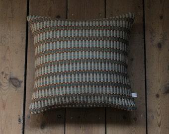 Handwoven Cushion - little green