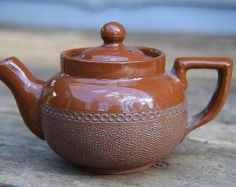 Vintage Lovatt & Lovatt Tea Pot, Langley Mill Pottery, British Earthenware
