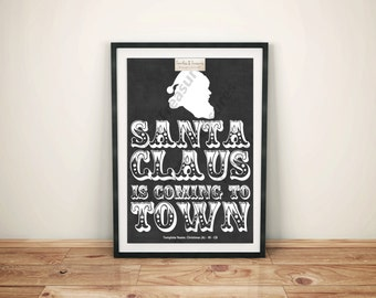 Christmas (A) - Santa Claus is Coming to Town