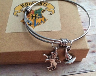 Harry Potter Sorting Hat Gryffindor Charm Bangle