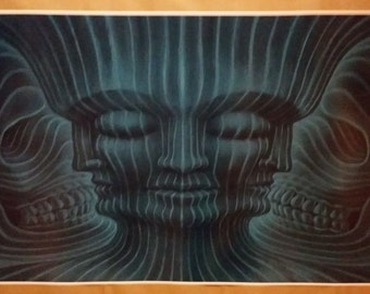 """Tool Band GIANT WIDE Poster 50""""x 24"""" Lateralus 10,000 Days Maynard Art"""