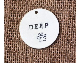 Derp Dog Tag