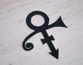 prince symbol iron on patch prince symbol applique iron on tshirt prince symbol jacket applique patches DIY Craft Supplies & Tools