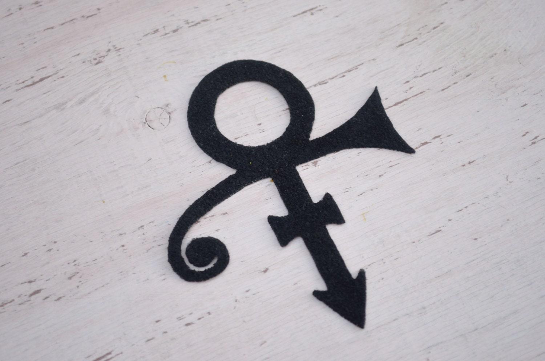 Prince Symbol Iron On Patch Prince Symbol Applique Iron On