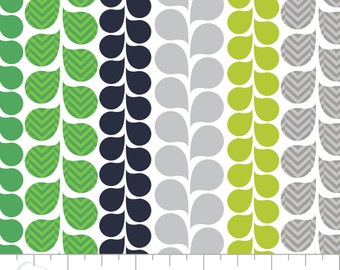 Vine Print Cotton Fabric, Quilting and Patchwork Fabric - Fat Quarter