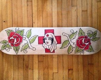 Rose of No Mans Land Skate Deck