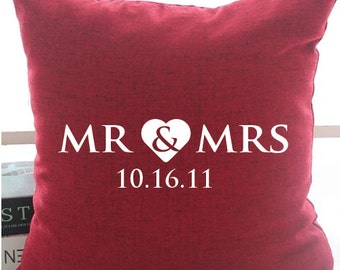 Mr & Mrs Custom date
