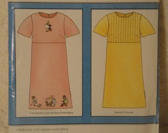Martha Pullen Martha's Favorite Dress XS S M L XL 2XL 3XL UNCUT 2000