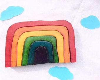 Rainbow Nesting Puzzle