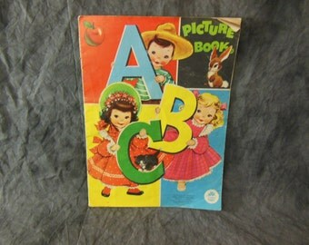 Childrens Picture Book Of the ABCs - Vintage