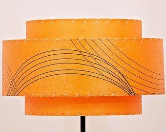 Mid-Century-Modern Lamp Shade Fiberglass Lamp Shade 3T-76.2
