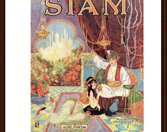 Siam by Emma Carus from the book Memory Lane