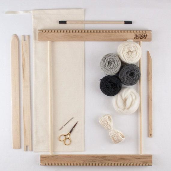 Wall Art Loom Kit : Beginners frame loom weaving kit everything by