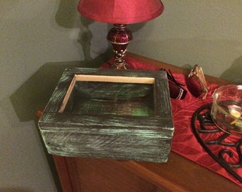 wood box with lid