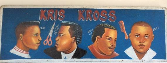 West African Barbershop Sign
