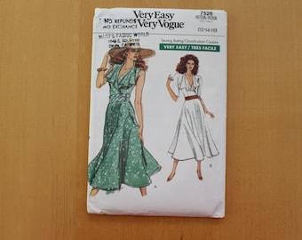 Vintage Vogue 7526, Sizes 12-14-16
