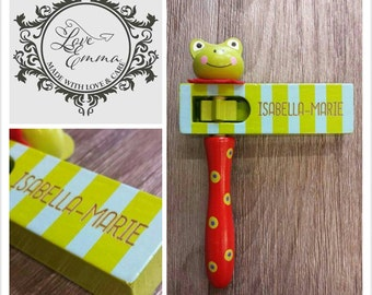 Personalised Frog Clacker Instrument - 00153