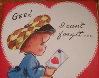 Vintage Valetine's Day Card