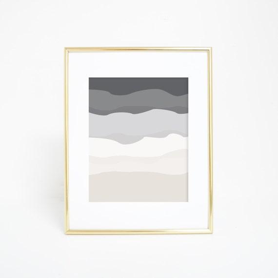 Neutral Wall Art, Minimalist Print, Nursery Print, Wall Decor, Modern Wall Art, Minimalist Home Decor, Printable Art, Gray Print