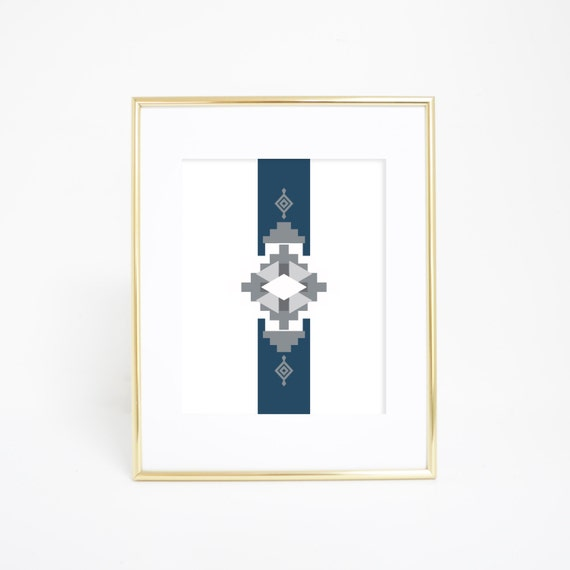 southwest home decor navajo wall print by printsbyjettyhome