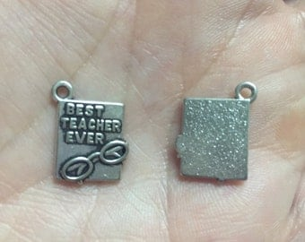 Best teacher ever charm
