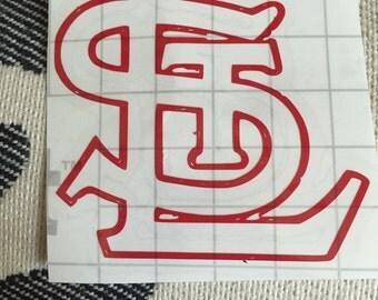St. Louis Cardinals vinyl decal