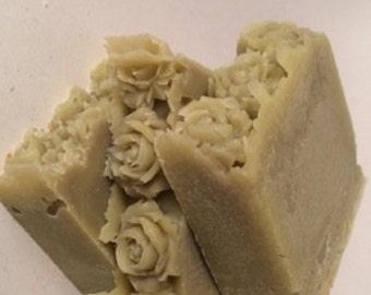 Eczema Soap, Aleppo Soap, Fragrance Free, Laurel berry Soap