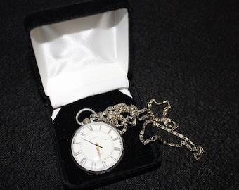 Wostok USSR Soviet Mechanical Pocket Watch