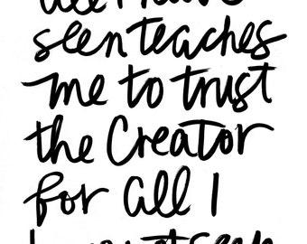 print // trust the creator