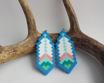 Summer Daze boho hippie festival earrings