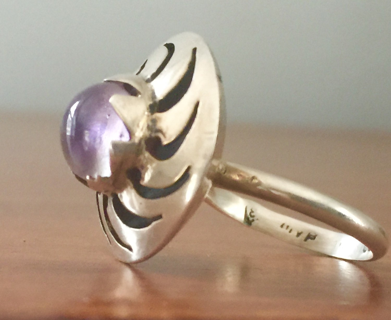 vintage sterling silver taxco ring vintage by sugardrawers