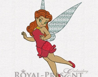 Machine Embroidery Design - Rosetta fairy