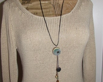 NECKLACE -vINTAGE zIPPER