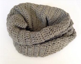 Loop, Halsschmeichler, scarf, grey, cashmere