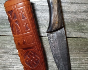 14th Century Medieval Knife Scabbard
