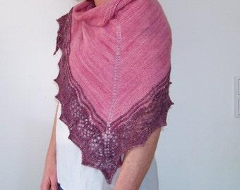 Knitting pattern Shawl Polaimon