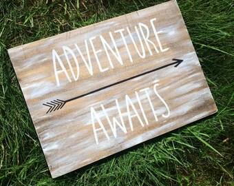 14 1/2 x 10 1/2 Adventure Awaits