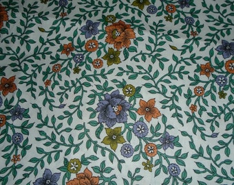 Vintage Cotton Yardage- 1/2 Yard Cut