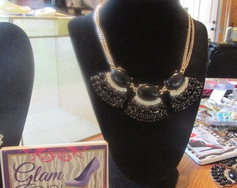 Black Hat effect Necklace By Major