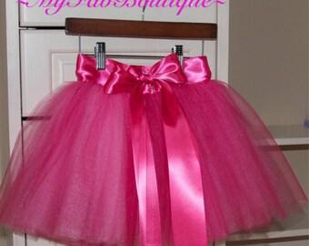 SEWN Tulle skirt, flower girl dress,  tutu,Soft Tulle, Bridal, Weddings, Flower Girls CUSTOM sewn tutus