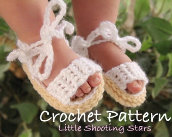 CROCHET PATTERN, Baby Sandals Crochet Pattern, How to Crochet Baby Shoes, Pattern, Tutorial, Baby Girl Crochet Patterns, Crochet Shoes
