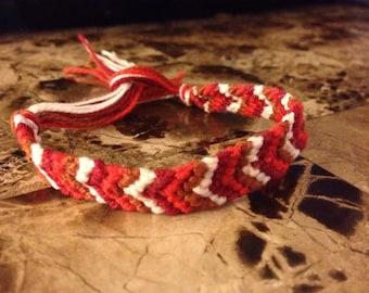 Fall cheveron bracelet