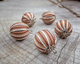 Ribbon Ball Attachment ~5 pieces #100824