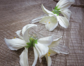 Lily Hair Clip ~2 pieces #100938