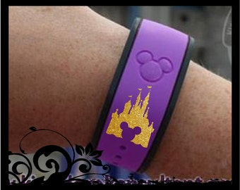 Castle Silhouette Decal for Your Magic Bands