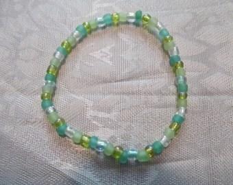 Beaded Stretch Seed Bead Bracelet/ Birthday Gift/ Gifts for Girls/ Gifts for Her/ Girls Bracelets/ Kids Bracelets/ Girls Jewelry