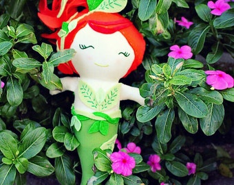 Poison Ivy Mermaid doll