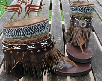 Boho Sandals handmade