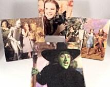 Vintage Wizard of Oz Coaster Set ( includes 4 tiles)