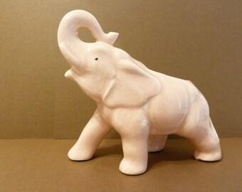 Pink Elephant Planter, Vintage ceramic